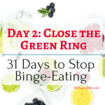 close the green ring, BethanyJett.com