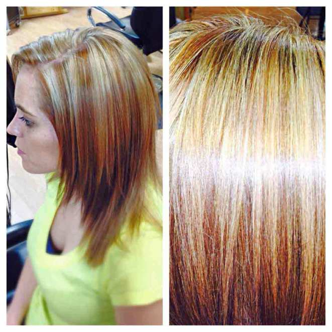hair highlights lowlights