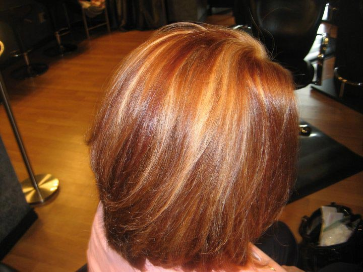 after photo of new hair color parker colorado