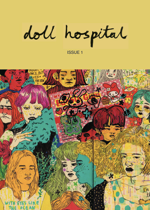 Doll Hospital Journal Cover Issue One