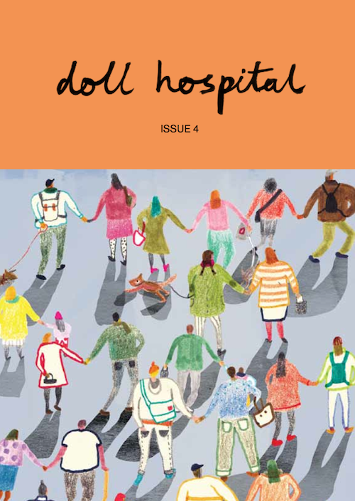 Doll Hospital Journal Cover Issue Four