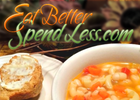 Visit Eat Better Spend Less for great recipes AND insights into having great food right at home!