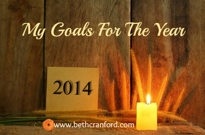 Finally, My Goals For The Year!