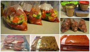 Summer Menu-Freezer Cooking Day