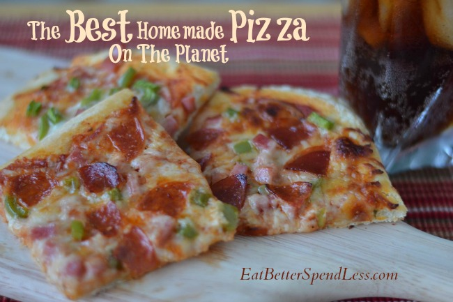 The Very Best Homemade Pizza