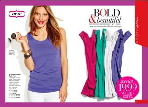 Avon Lace Accented Tank Pack
