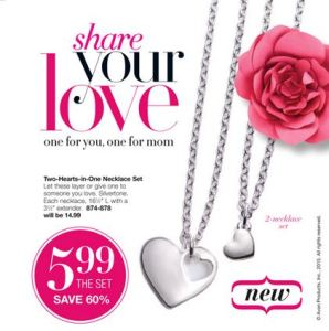 Two Hearts in One Necklace Set Campaign 9