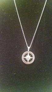 Avon Sterling Silver Journey Necklace