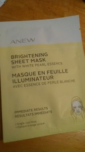 Avon Anew Brightening Sheet Mask