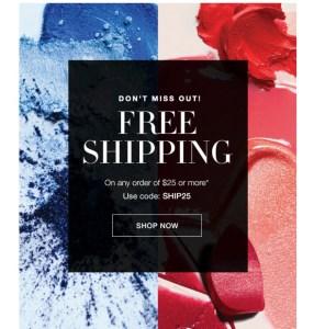 Avon Free Shipping Code. Expires June 4, 2017