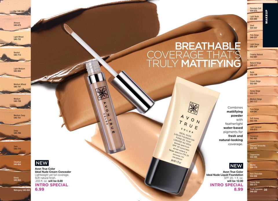 Avon Makeup Sale Campaign 13 2017