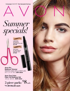 Avon Summer Specials Flyer Campaigns 13-14 2017