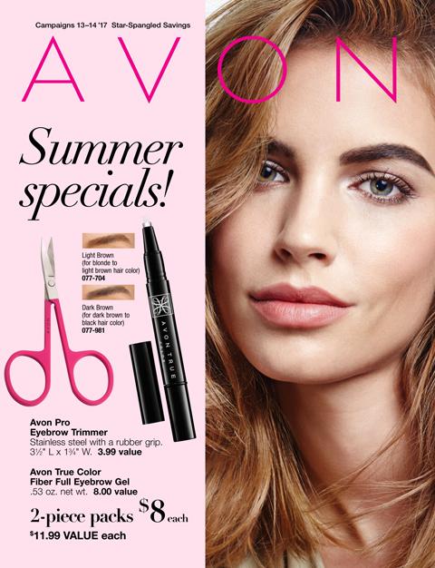 Avon Summer Specials Flyer Campaigns 13-14 2017