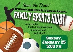 Family Sports Night
