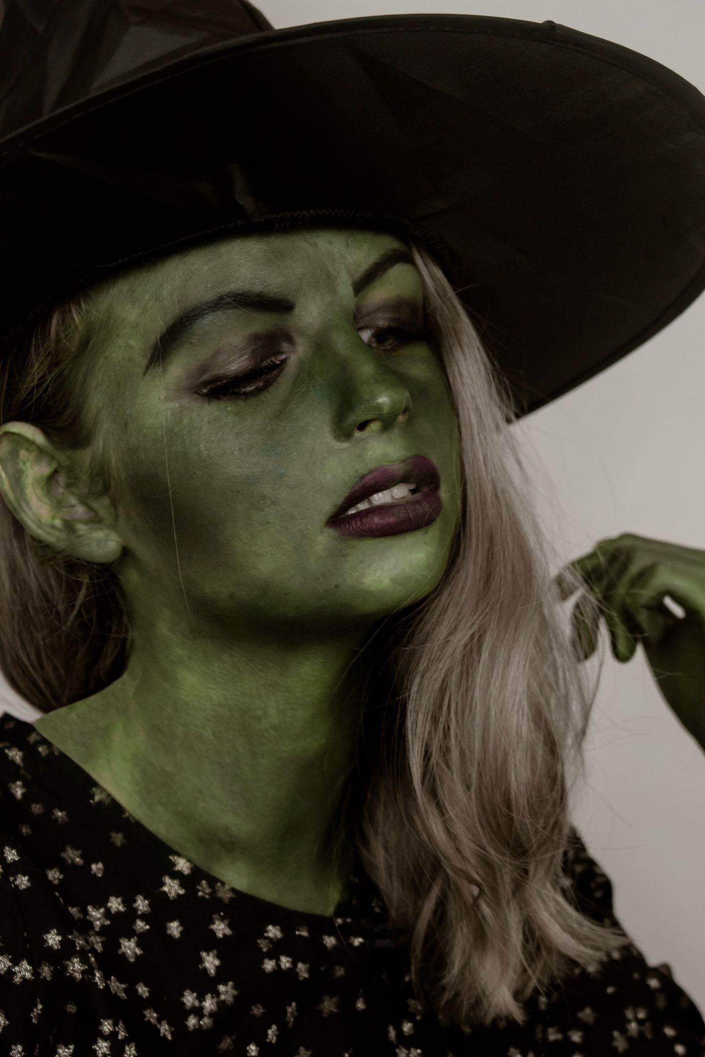 Elphaba Makeup Tutorial