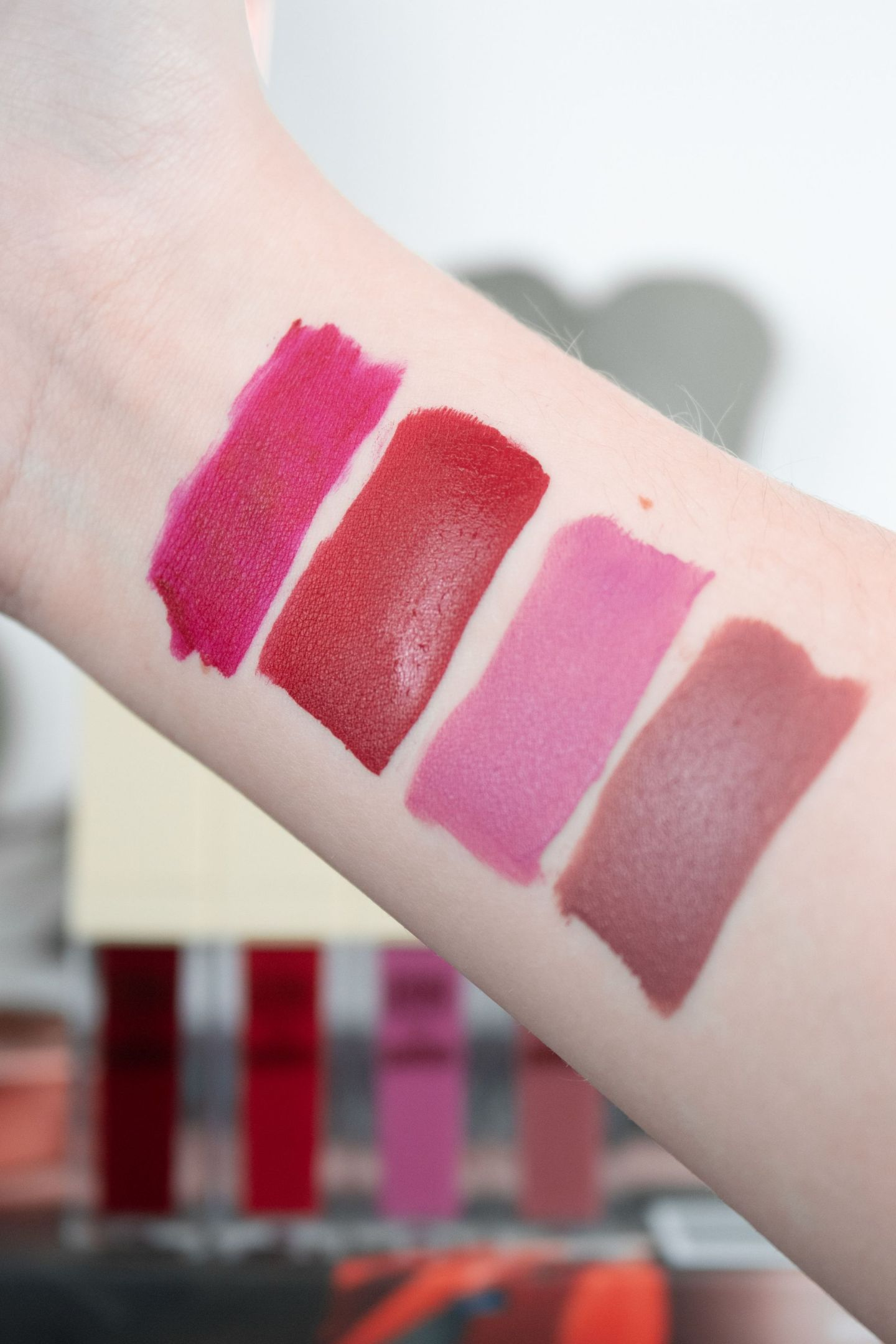 Pixi MatteLast Liquid Lipsticks Swatches