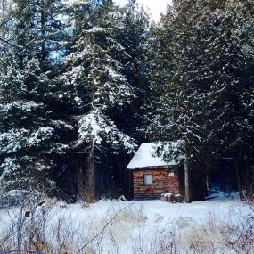 The Prayer Cabin - Winter