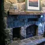 Fireplace in Main Meeting Room