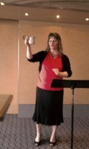 Beth Jones, speaking at Women of Destiny Conference, Bahamas
