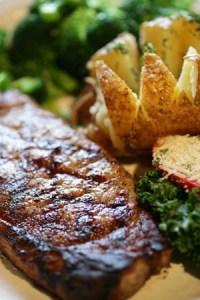 Prime rib meat