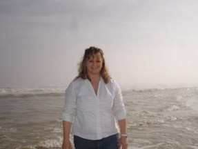 me on beach in Florida