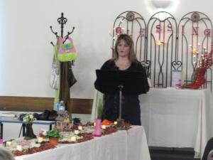 Beth Jones speaking in Canada