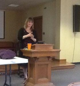 Speaker Beth Jones, PAUMSCS Leadership Conference