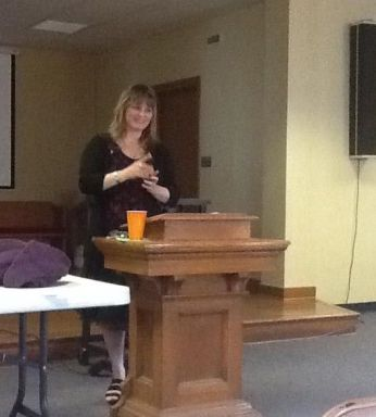 Speaker Beth Jones, PAUMSCS Leadership Conference