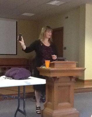 Speaker Beth Jones, Leadership Conference, Fulton, MO