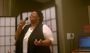 Worship/praise leader Naima Johnston-Bush