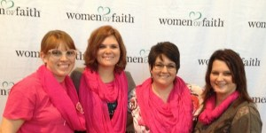Amber, Heather, Lindsey & me in pink