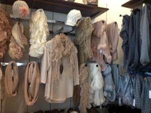 Hats, sweaters & scarf heaven