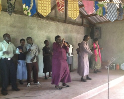 Pastor Rose & Worship Team Revival Worship & Praise Church Bungoma, Kenya, Africa