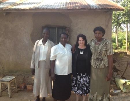 Rose, Frida, Beth Jones, & Justine Kenyan women - Bungoma, Kenya, Africa