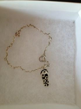 flip flop bracelet