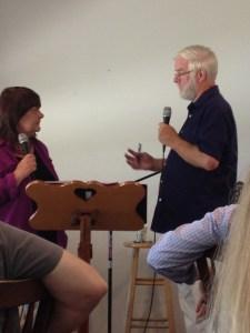 Laureen & Roger teaching