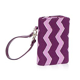 Thirty-One Gifts purple wristlet
