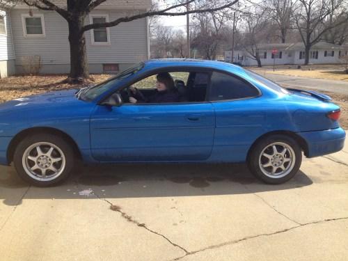 Leah's car