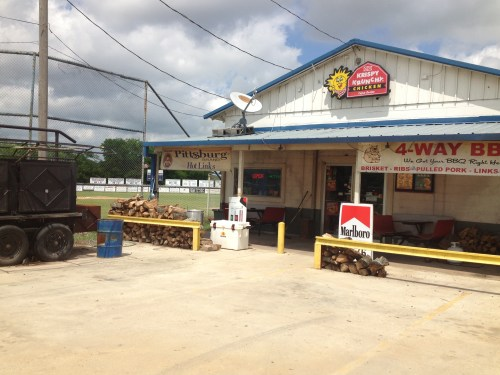 Bogota, TX store where Ray always gets his hot links