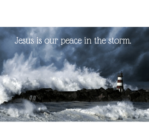 Jesus is our peace in the storm. Image resource: http://farmersalmanac.com/weather/2012/05/28/2012-hurrican-season-forecast/