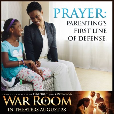 Danielle with her mom Elizabeth in War Room