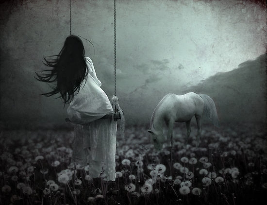 Woman and horse. Image resource: https://steppinupx.files.wordpress.com/2011/05/1334562-2-in-my-dreams.jpg