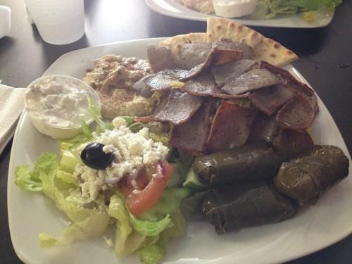 Royal Gyros restaurant My lunch celebration