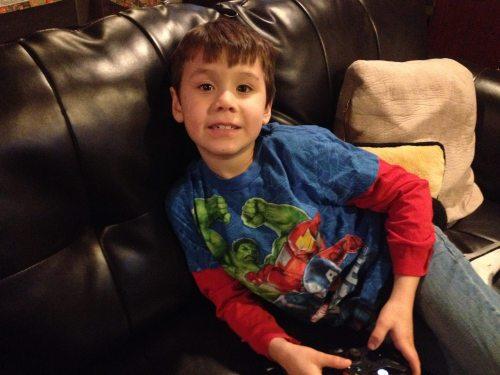 Eden's adorable son Jacob