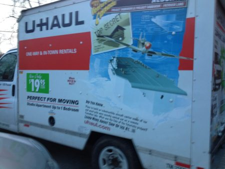 Their UHaul to move to Antler, Oklahoma