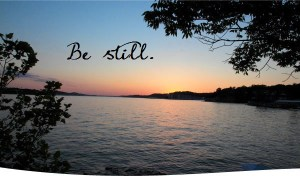 be still -lake