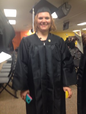 Heather did it! We're so proud of you!