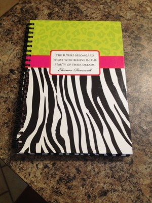 my journal to take down notes