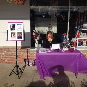 My book signing & promotion The Carpenter's Cup