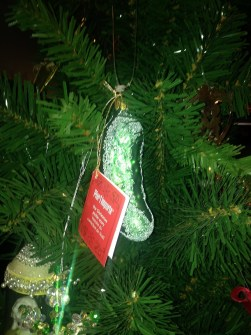 Ray's pickle Christmas ornament deco